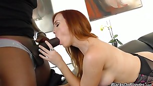 She`s petite, she`s a redhead, and she`s the latest in a long line of porn stars to come over to `The Dark Side`.