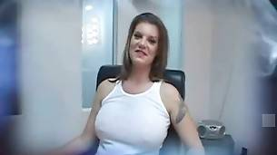Breasted White Milf Adores Big Black Dicks 2