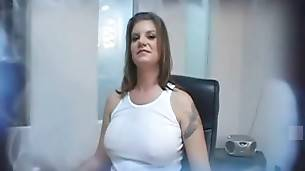 Breasted White Milf Adores Big Black Dicks 1