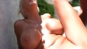 Black Stud Deeply Drills Slutty White Lady 1
